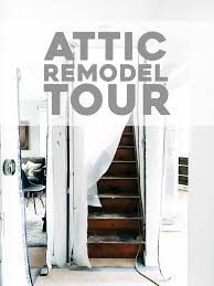 attic remodel tour phase one pinch of yum