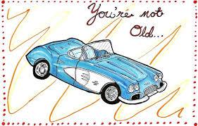 corvette birthday corvette birthday card by oldsophie on deviantart