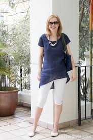 summer style capri white capri outfits how to wear navy and blue this summer