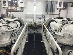 engine room of the sea force ix 94 5 the gleaming white and