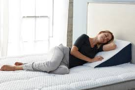 Wedge Pillows For Bed 5 Ways To Use Wedge Pillow For Healthier Sleep U2013 Brentwood Home