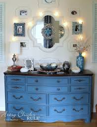 a little before u0026 after fun annie sloan chalk painted hutch