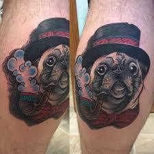 23 loveable pug tattoos u2013 sortra