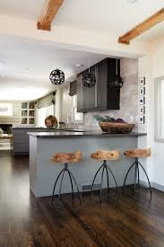 Kitchen With Only Lower Cabinets Get The Look Black Cabinet Kitchen Atlanta Magazine