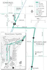 Seattle Map Downtown by Schedules
