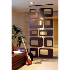 freestanding room divider great idea for recycled record wall curtain room dividers