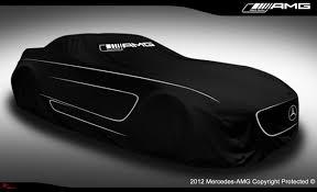 mercedes black car mercedes teases 2014 sls amg black series ahead of tonight s