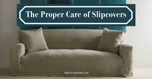 how to clean sofa at home to clean slipcovers the stated home
