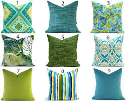 Blue Outdoor Cushions Blue Outdoor Pillows Any Size Outdoor Cushions Outdoor Pillow