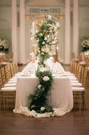 cheap garlands for weddings wedding trends table garlands the magazine
