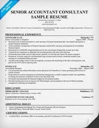 Senior Accountant Resume Sample by 11 Sample Resume Tax Accountant Riez Sample Resumes Tempat