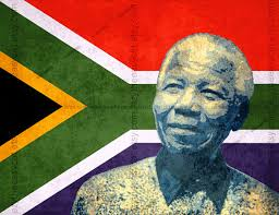 nelson mandela south africa flag invictus print t2 office
