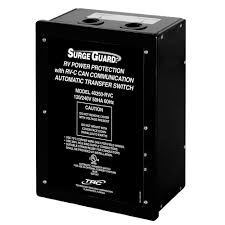 surge guard automatic transfer switch with rv power protection