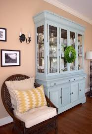 china cabinet in living room painting a china cabinet hometalk