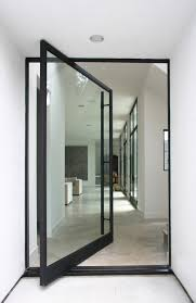 Glass Front House Open The Door To A More Stylish Home Pivot Doors Doors And Glass