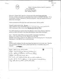 Irony Worksheet Romeo And Juliet Unit Plan Jeremy C R Crouthamel