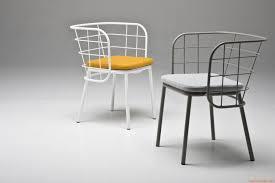 Metal Armchair Jujube Design Small Armchair Chairs U0026 More In Painted Metal In