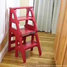 remodelaholic diy ladder chair a modern twist on an american