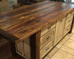 kitchen island table with storage kitchen island etsy