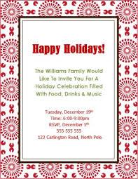 corporate luncheon invitation wording printable bursts christmas invite template