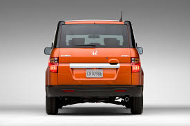 restyled 2009 honda element offers new high tech functional features