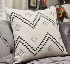 peter dunham pillow cover taj onyx ash oyster black and