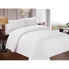 Luxury White Bed Linen - amazon com utopia bedding 3 piece queen duvet cover set with 2