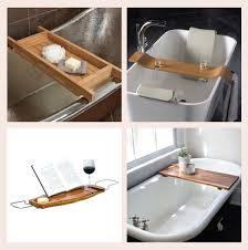 Wood Bathtub Caddy 12 Bathtub Caddies Design Crush