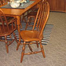 36 x 72 dining table 36 x 72 porringer dining table shown in tiger maple with an