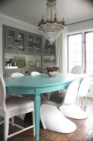 Aqua Dining Room Someday I Will Own A Turquoise Dining Table So Beautiful Maybe