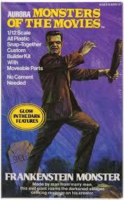 Seeking Frankenstein Fifteen Frightening Frankenstein Collectibles