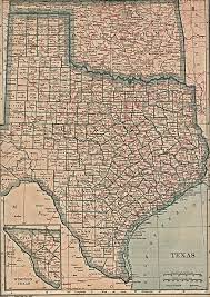 Counties In Texas Map Texas Historical Maps Perry Castañeda Map Collection Ut