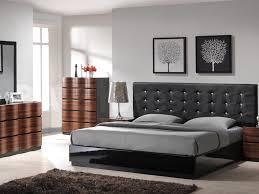 bedroom modern queen bedroom with fascinating black wooden