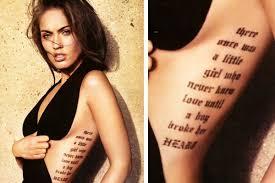 top 10 craziest celebrity tattoos movie tv tech geeks news