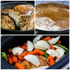 crockpot turkey breast with lower carb and gluten free turkey