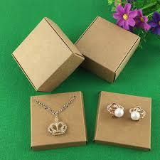 necklace earring gift box images 50set kraft jewelry box jewelry cards earring necklace box blank jpg