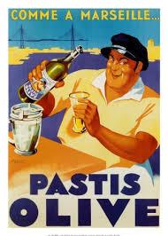 affiche cuisine retro affiche 50x70cm pub retro pastis olive de marseille amazon fr