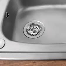 Savisto Premium Stainless Steel Kitchen Sink Plug Strainer - Kitchen sink drainer plug