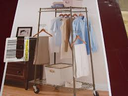 amazon com better homes and gardens double hanging garment rack
