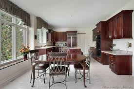 Dark Wood Kitchen Table Pictures Of Kitchens Traditional Dark Wood Kitchens Cherry