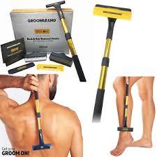 sedere depilato groomarang da uomo schiena depilazione accessori pettinatura