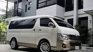toyota van philippines the new 2018 toyota hiace super grandia 3 0 is awesome youtube