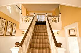 finials staircase craftsman with ball craftsman newel post home