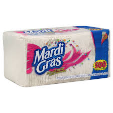 mardi gras napkins mardi gras napkins 1 ply 500 napkins