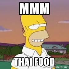 Thai Food Meme - mmm thai food homer mmm meme generator