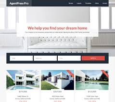 best real estate wordpress themes 2017 themebounce