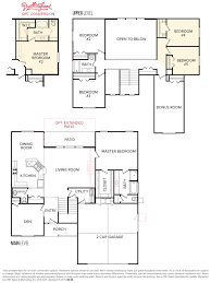 garage floor plans with bonus room sawtooth 2740 floor plan layouts living spaces pinterest
