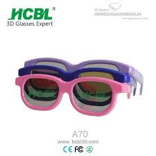 swissflex 3d eyewear glasses low price plastice 3d movies glasses