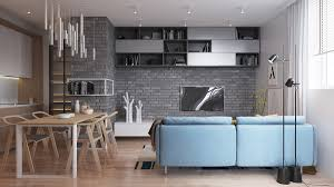 two muted tone exposed brick pads for young families best home