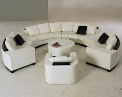 Curved Sectional Sofa by 25 Photos Round Sectional Sofa Bed
